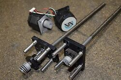 THK Linear Ball Screw Actuator With Stepper Motor FK8 12 12 Inches Long FK  $119.99