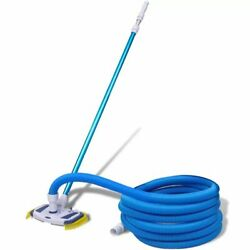 vidaXL Swimming Pool Vacuum w Telescopic Pole and Hose Cleaning Set Outdoor $120.99