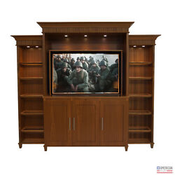 American TV Lift Cabinet - Handcrafted Modern New Bern Entertainment Center