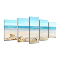 Canvas Print Picture Paintings Home Decor Wall Art Photo Landscape Seascape Blue $39.99