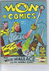 Wow Comics #2 Commercial Signs RARE CANADIAN EDITION DECAPITATION COVER