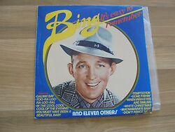 BING CROSBY_It's Easy To Remember_compilation_used VINYL LP_ships from AUS_shE3r