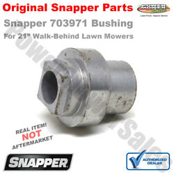 Snapper Bushing for the Steel Deck Commercial Recycling Series 703971 7017696