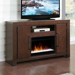 Legends Furniture ZCTL-1900 City Lights Fireplace Console