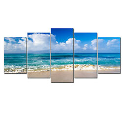 Canvas Print Picture Paintings Home Decor Wall Art Landscape Blue Seascape Beach