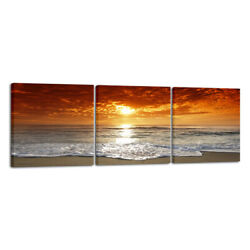 Canvas Print Picture Paintings Wall Art Home Decor Sea Beach Landscape Framed $39.92
