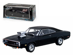 Dom's 1970 Dodge Charger Black The Fast and The Furious Movie (2001) 143
