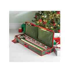 New Real Simple Holiday Gift Wrap Under Bed Bag Wrapping Paper Organizer Storage