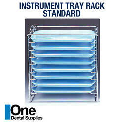 Dental Instrument Tray Rack Hold for 8 Tray 'B