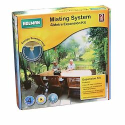 Holman MISTING SYSTEM EXPANSION KIT For Watering Greenhouse AUST Brand- 4m Or 7m