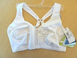 New Champion Sports Bra White #CH1697 Medium Support $19.99