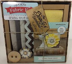 ADORNit Fabric Frame Kit Easy Sewing All Supplies Included Beginner