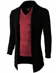 H2H Mens Casual Shawl Collar Cardigan Sleeveless Sweaters W No Button