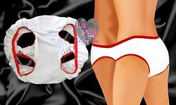 New Undies Underwear For Two With 4 Leg Holes Openings Novelty Gag Gift $9.95