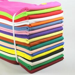 100% Cotton Sewing & Quilting Fabric - Solid Color - BTY $4.69