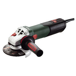 Metabo ANGLE GRINDER W12125 125mm 1200W Auto Stop Carbon Brushes *German Brand