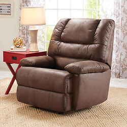 Rocker Recliner Chair Brown Rocking Cup Holder-Better Homes and Gardens Deluxe