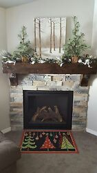 Custom Sizing & Lengths No Extra Charge Knotty Alder Mantel