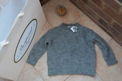 Super Fashion MohairMerino Wool Mix Pullover from French BONPOINT BNWT £180!