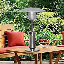 New Patio Heater Portable Tabletop Heater Stainless Steel FREE SHIPPING