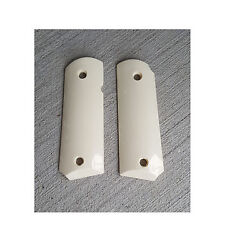AJAX Grips # 10IP 10 IP for 1911 Officers Compact amp; CCW Clones Ivory Polymer $34.95