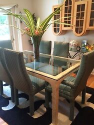 CONTEMPORARY DINING ROOM TABLE amp; CHAIRS $999.00