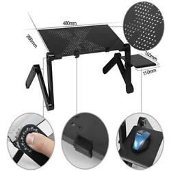 New 360°Adjustable Foldable Laptop Desk Aluminum Table Stand Bed Notebook Tray $18.98