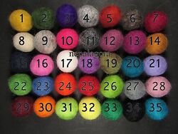 Wholesale lot felt pom pom wool balls Nursery kids home decor size 2 cm 20mm