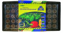 Indoor Gardening Professional Greenhouse 50-Pots Sprouts Seeds Starter Kit Set