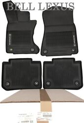 LEXUS OEM FACTORY ALL WEATHER FLOOR MAT LINER SET 2013 2020 GS350 AWD $62.00