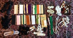 Vintage Sewing Leftovers - Partially Used Supplies