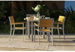Patio Dining Set Outdoor Garden Home Kitchen Furniture Table and