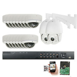 16CH 5MP 1920P NVR Security System  5.0MP  Dome PoE IP Camera PTZ Camera Outdoor