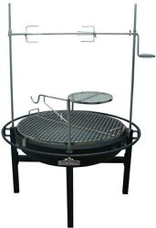 RiverGrille Cowboy 31 in. Charcoal Grill and Fire Pit