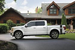 Ford F-150 truck bed side vinyl decals graphics racing stripe