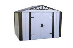 10x8 Designer Series Steel Storage Shed (DS108) Arrow
