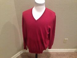 $1150 Loro Piana Men's Baby Cashmere  Sweater hand made in Italy  U.S 46 EU 56