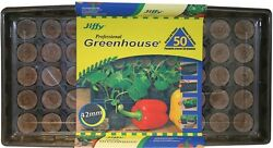 50 Cell Professional Greenhouse Seed Starter Kit Yard Garden Patio Plant Grow