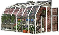 Sun Room Greenhouse 2 Clear Kit 6' X 6' Porch Deck Patio Roof Panel Plant Care
