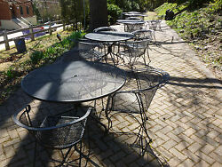 Outdoor Lounge Chairs Patio Furniture Sets Bistro Tables Wrought Iron