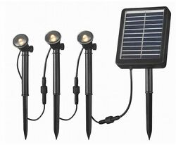 Solar Landscape 3 LED Light String for Solar Deck Dock and Path Light Outdoor