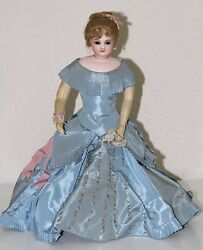JUMEAU PARISIENNE DOLL. PORCELAIN AND KID BODY. FRANCE. 19th CENTURY
