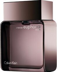 Calvin Klein Intense Euphoria Eau de Toilette Spray for Men 3.40 oz (Pack of 4)