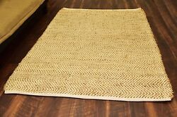 4x6 Rug Indoor Outdoor Carpet Living Bedroom Dining Large Jute Natural Area Rugs