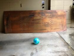 VTG ANTIQUE ART DECO 42lb. Copper Radiator Cooling Panel 8 FT X 34