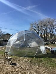 20 Foot Geodesic Dome Greenhouse *Complete Kit*
