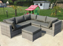 Outdoor Patio Furniture Modular Sofa Corner Sectional Sets with FREE patio cover