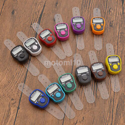 Practical Mini Digit LCD Electronic Digital Golf Finger Hand Held Tally Counter C $1.29