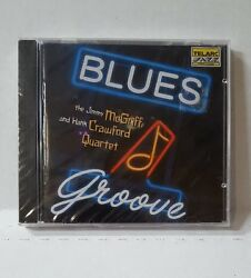 The Hank Crawford and Jimmy McGriff Quartet Blues Groove CD UNOPENED