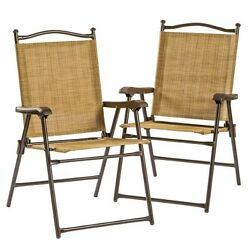 Patio Chairs Clearance Sling Back Cheap Sets Garden Furniture Home Yard 2 Piece